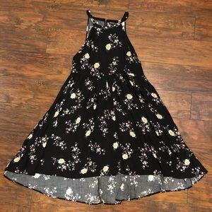 Hi-Lo Floral Dress Torrid Size 0